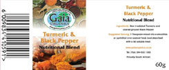 March promo - our new product Tumeric & Black Pepper spice